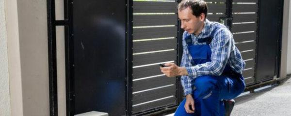 Réparation portail électrique